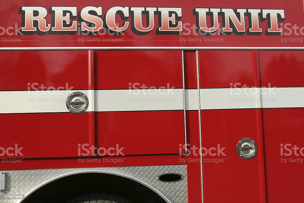 Fire Rescue royalty-free stock photo
