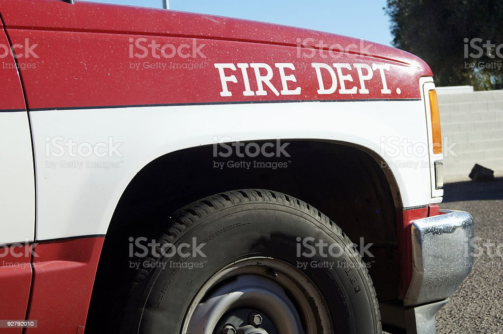 Fire & Rescue royalty-free stock photo