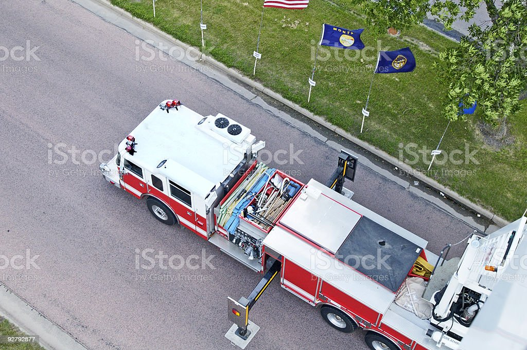 Fire & Rescue stock photo