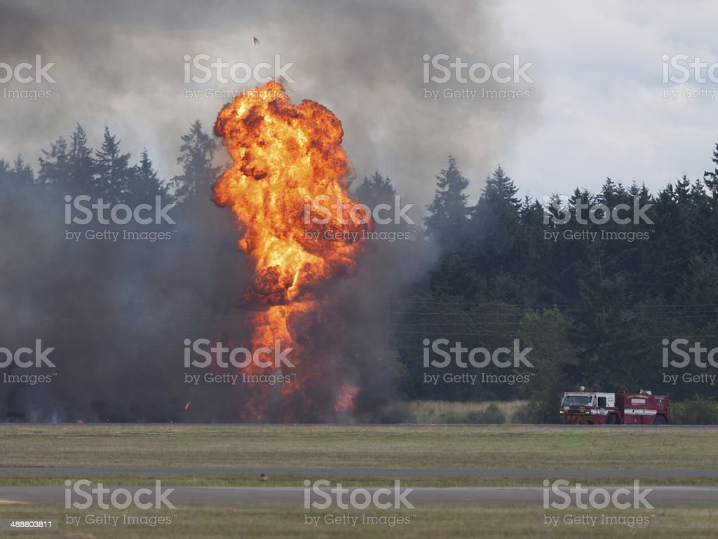 Fire Response royalty-free stock photo