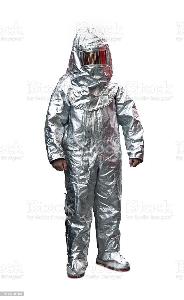 Fire Retardant Suit stock photo