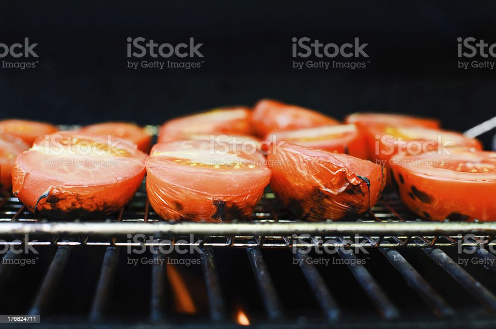 Fire Roasted Tomatoes stock photo