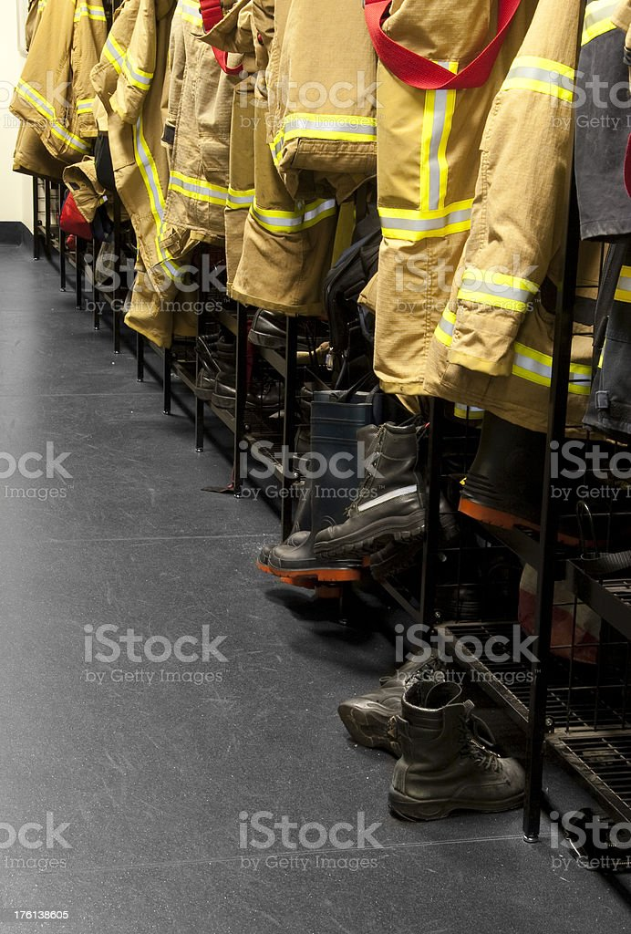 Fire Safety Gear royalty-free stock photo