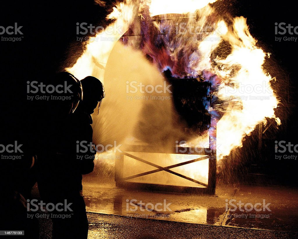 Fire Screen royalty-free stock photo