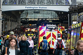 Fire services attend incident outside Paddington Station