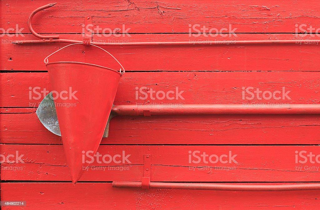 fire shield stock photo