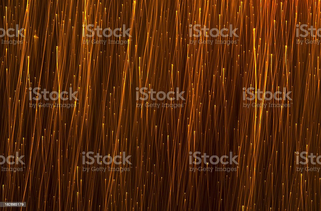 Fire Sparkles - Sparks royalty-free stock photo