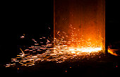 fire sparks - industry manufacturing