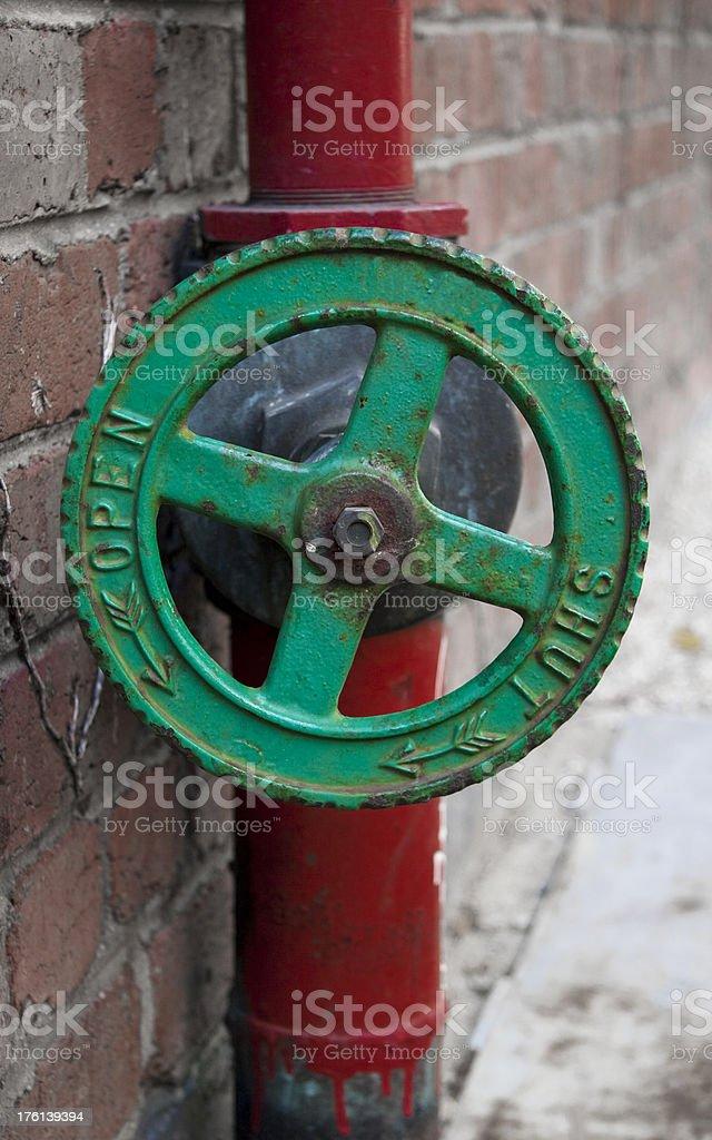 Fire Sprinkler Ventil Lizenzfreies stock-foto