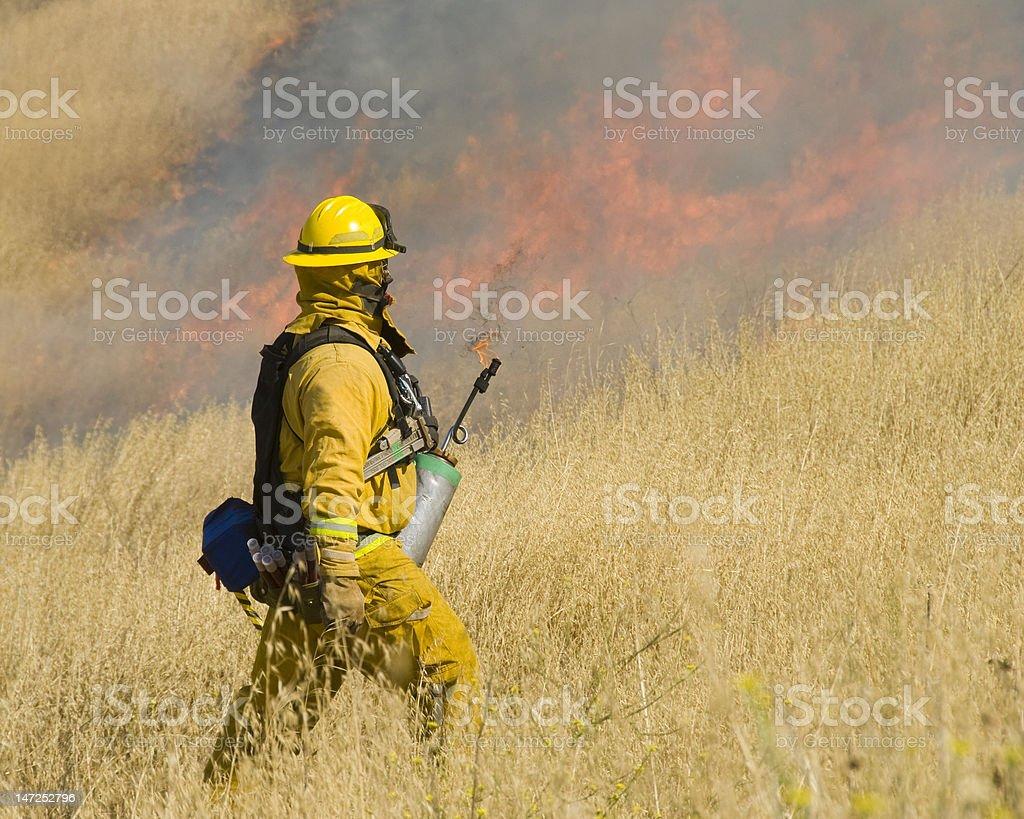 fire starter royalty-free stock photo