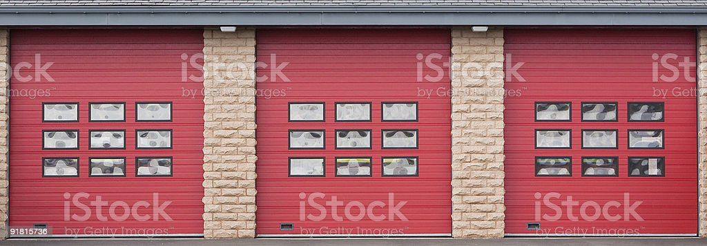 Fire Station royalty-free stock photo