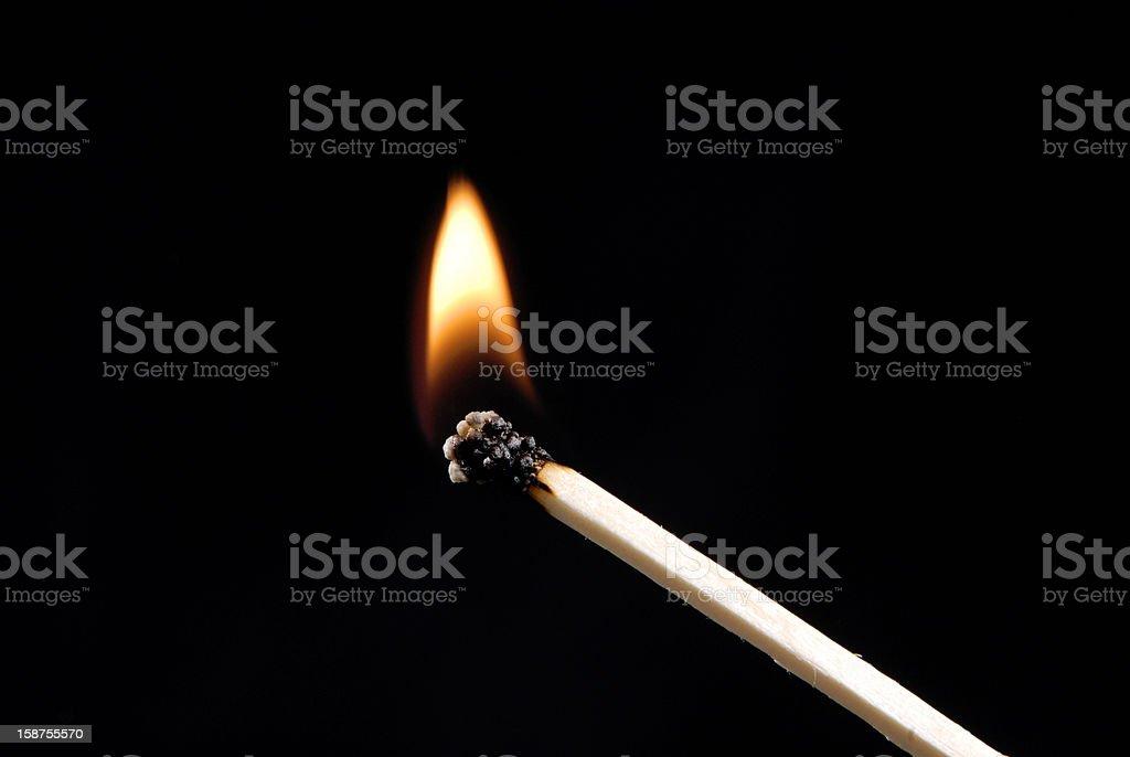 Fire stick. royalty-free stock photo