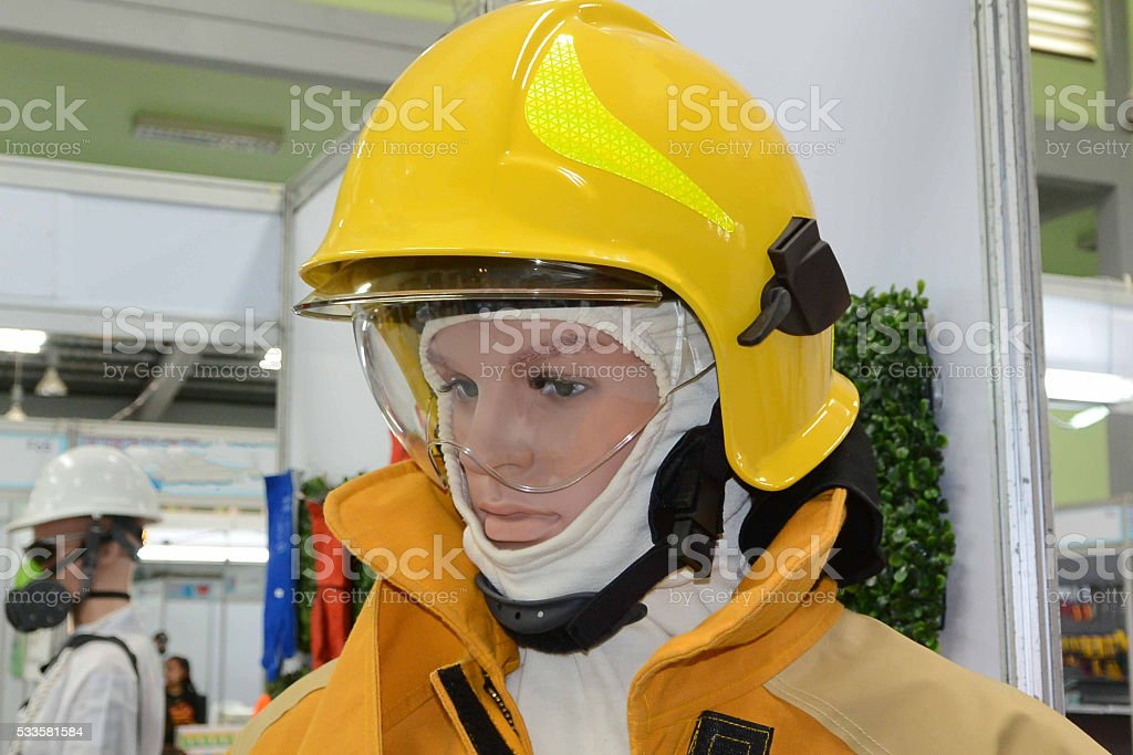 Fire Suit stock photo