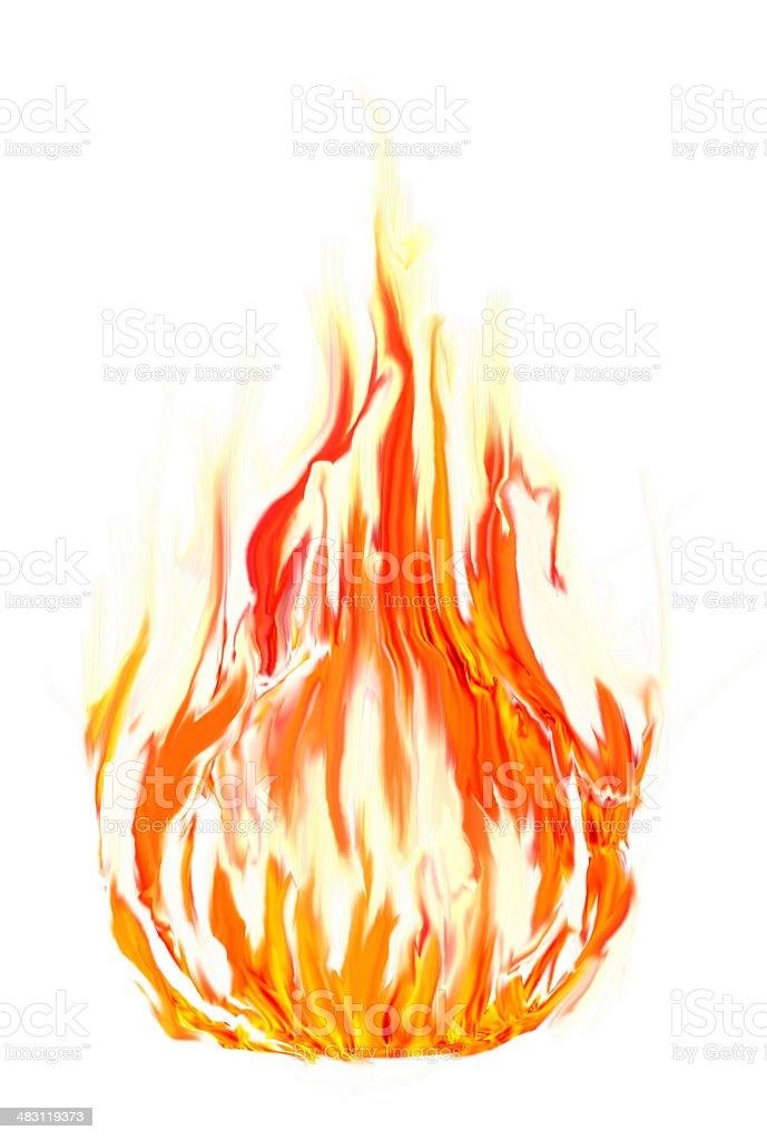 fire symbol stock photo