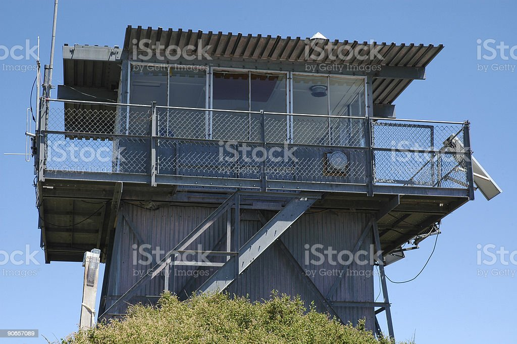 Fire Tower in Northern Arizona royalty-free stock photo