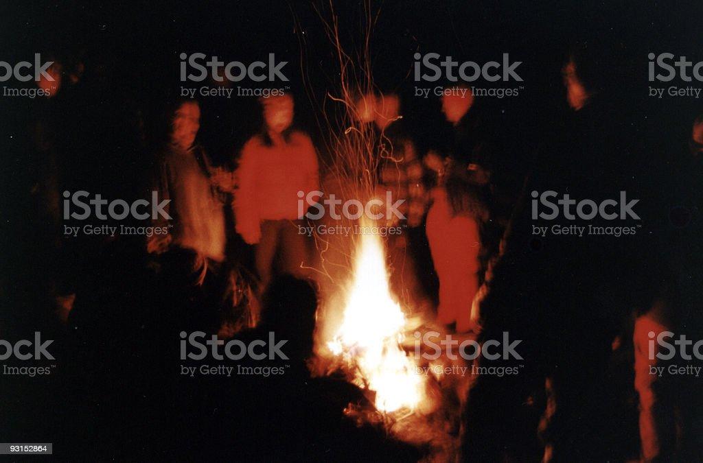 Fire Trance royalty-free stock photo