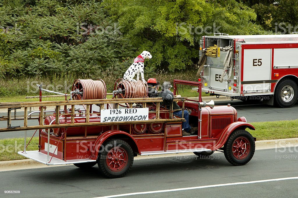 Fire Truck Parade 1 stock photo