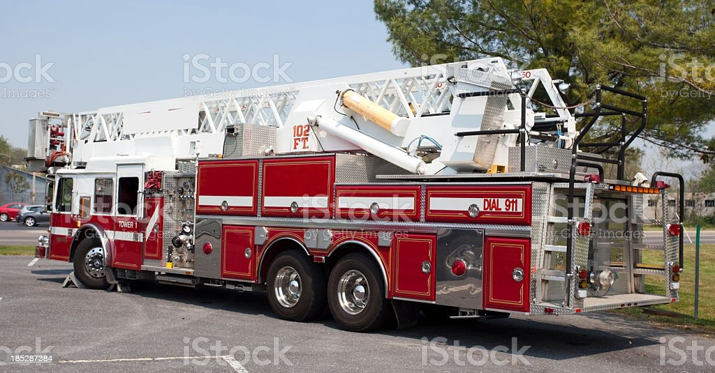 Fire Truck royalty-free stock photo