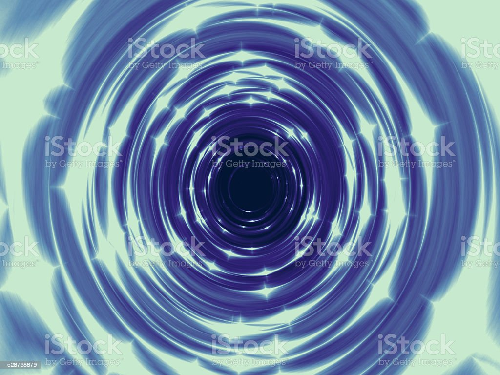 Fire tunnel generated texture stock photo