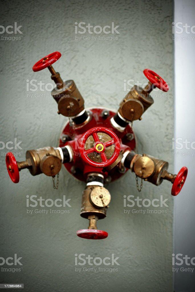 fire valve royalty-free stock photo