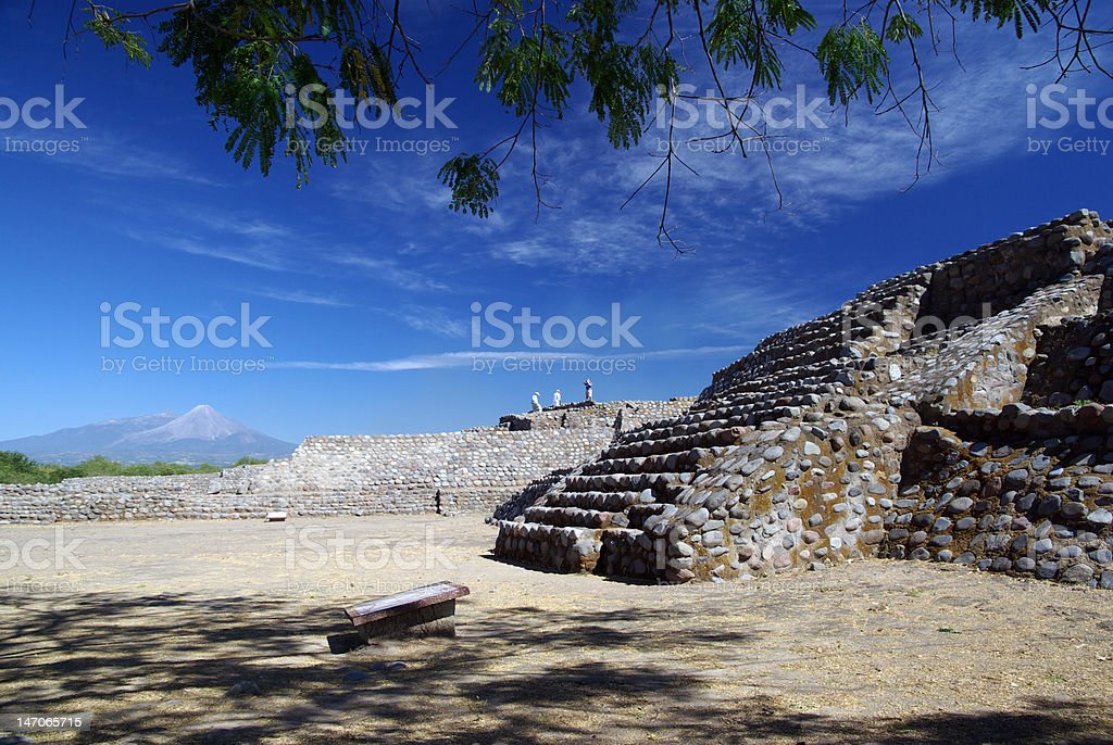 Volcan del Fuego stock photo
