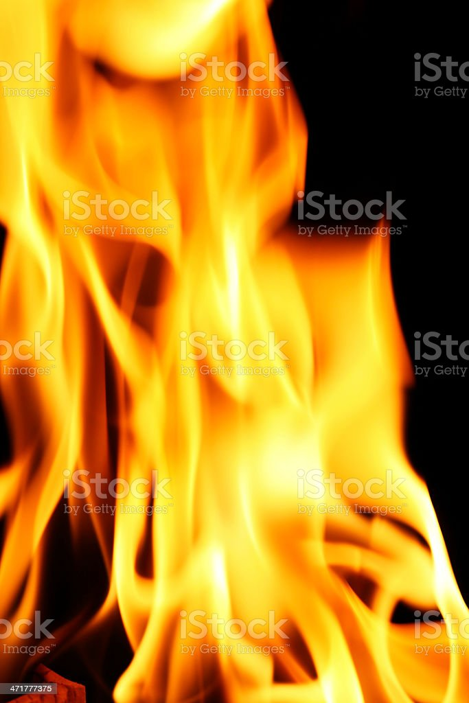 fire wallpaper royalty-free stock photo