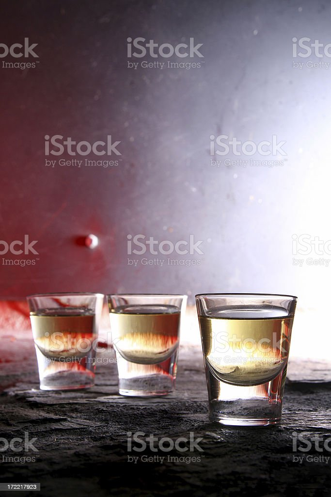 Fire Water aka Whiskey royalty-free stock photo