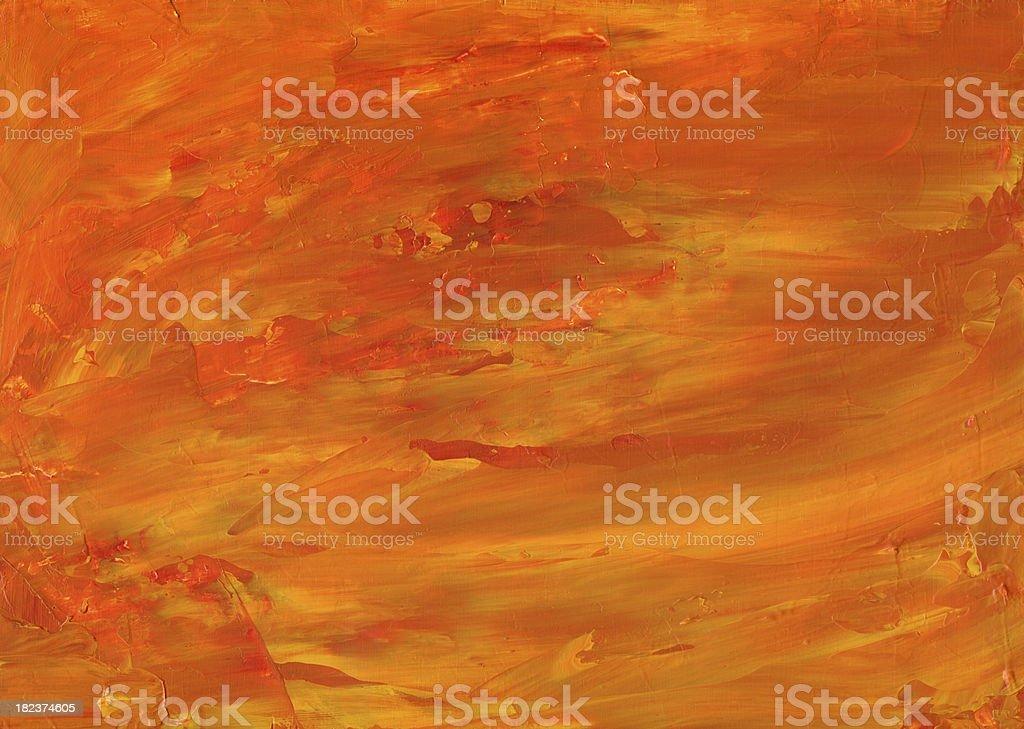 Fire Wave Orange Background royalty-free stock photo