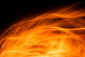 Fire Wind Abstract Background