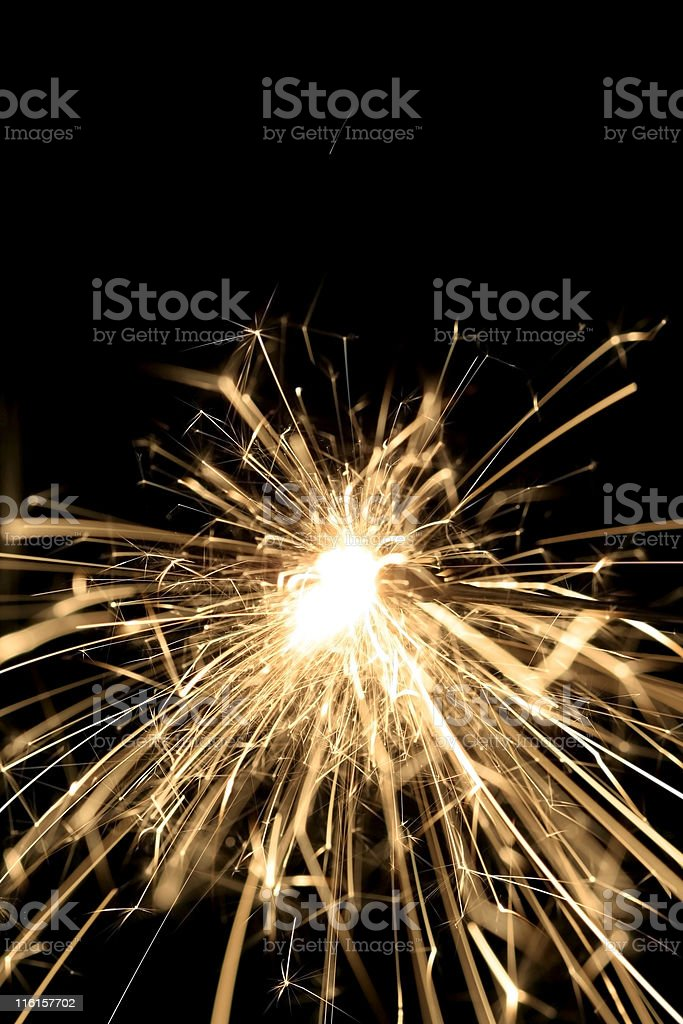Fire Works royalty-free stock photo