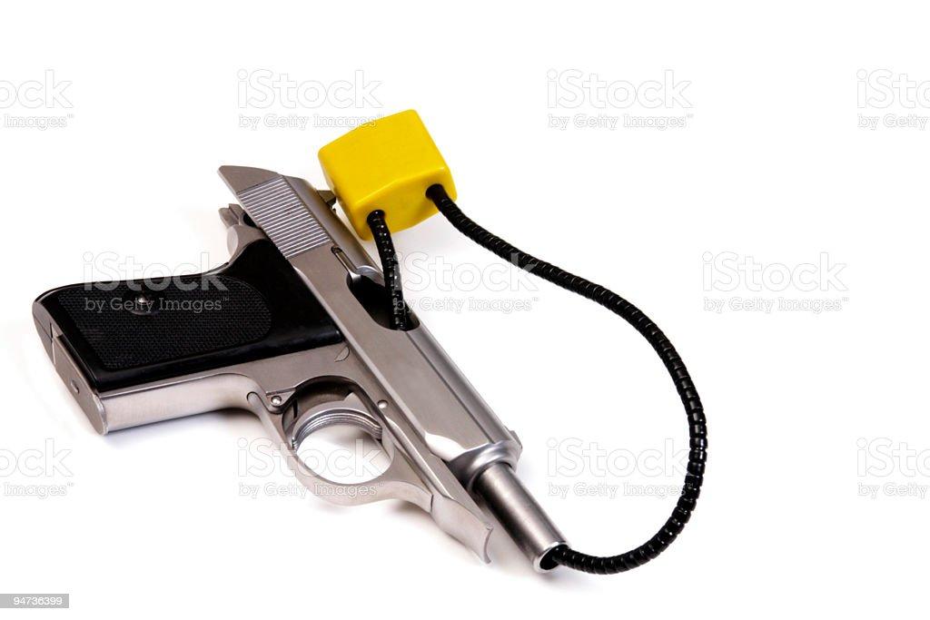 Firearm Safety stock photo