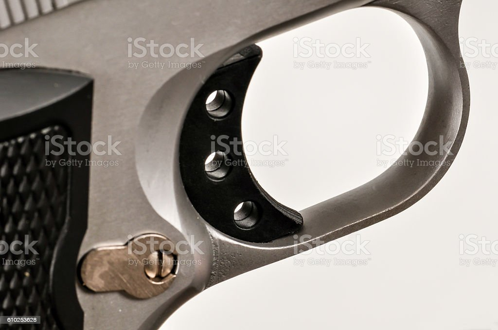 Firearm Trigger stock photo