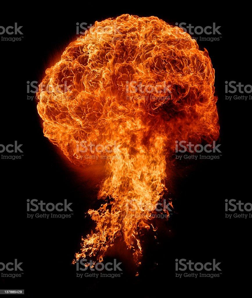 Fireball 01 royalty-free stock photo