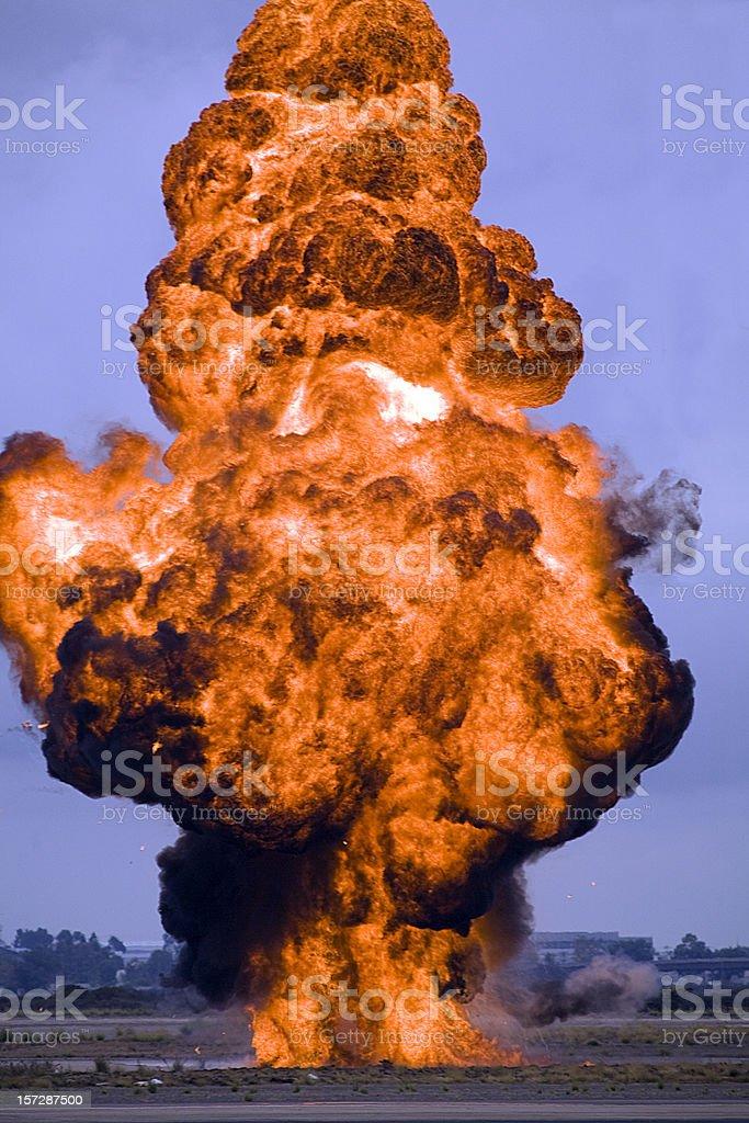 Fireball! stock photo