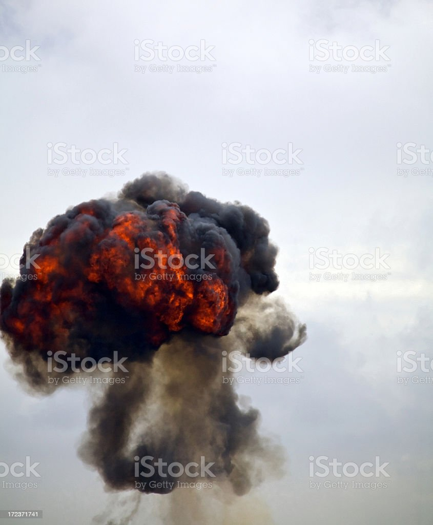 Fireball! stock photo