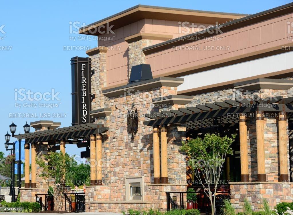 Firebirds Restaurant stock photo