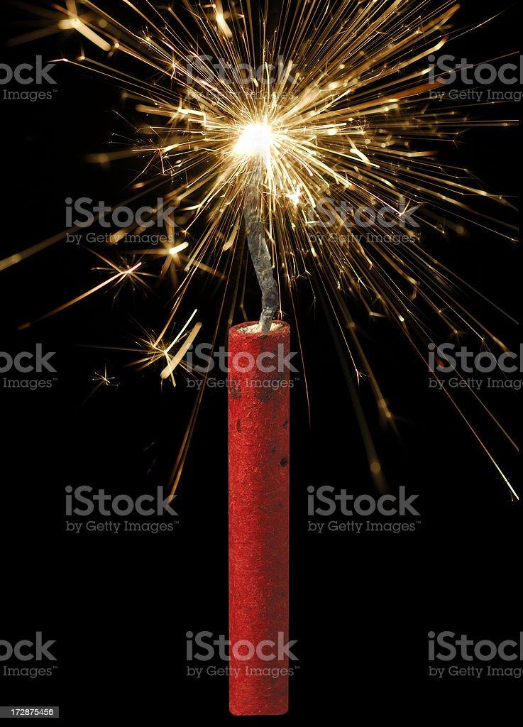 Firecracker royalty-free stock photo