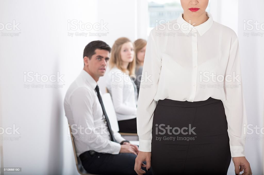 Fired from work stock photo