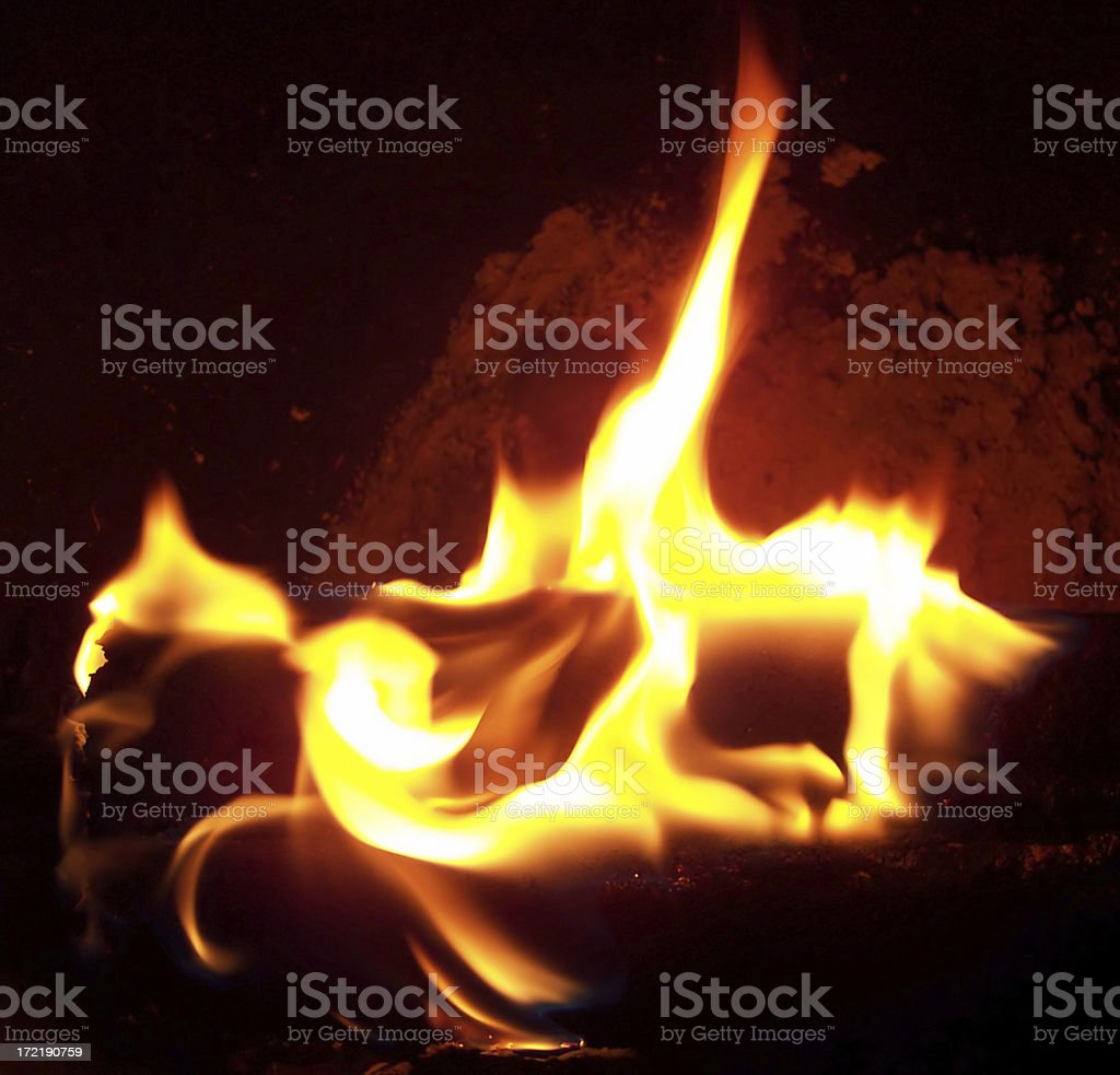 Fired Up stock photo