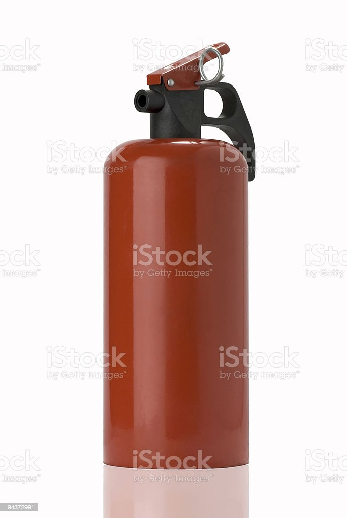 Fire-extinguisher royalty-free stock photo