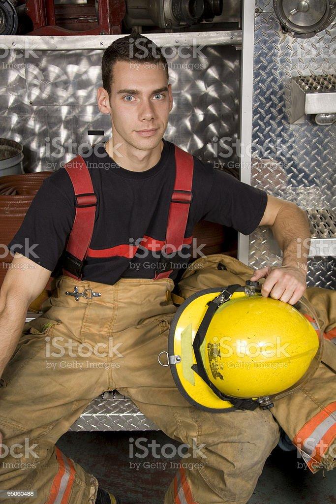 Firefighter Helmet royalty-free stock photo