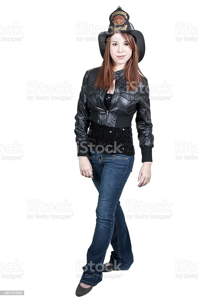 Firefighter royalty-free stock photo
