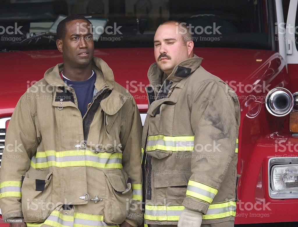 Firefighters 2 royalty-free stock photo