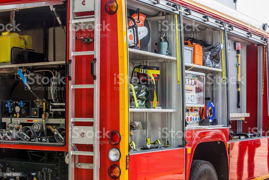 Firefighting Equipment stock photo