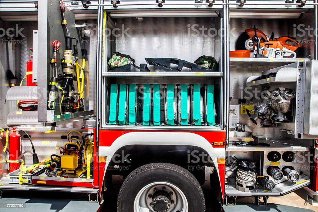 Firefighting Equipment stock photo