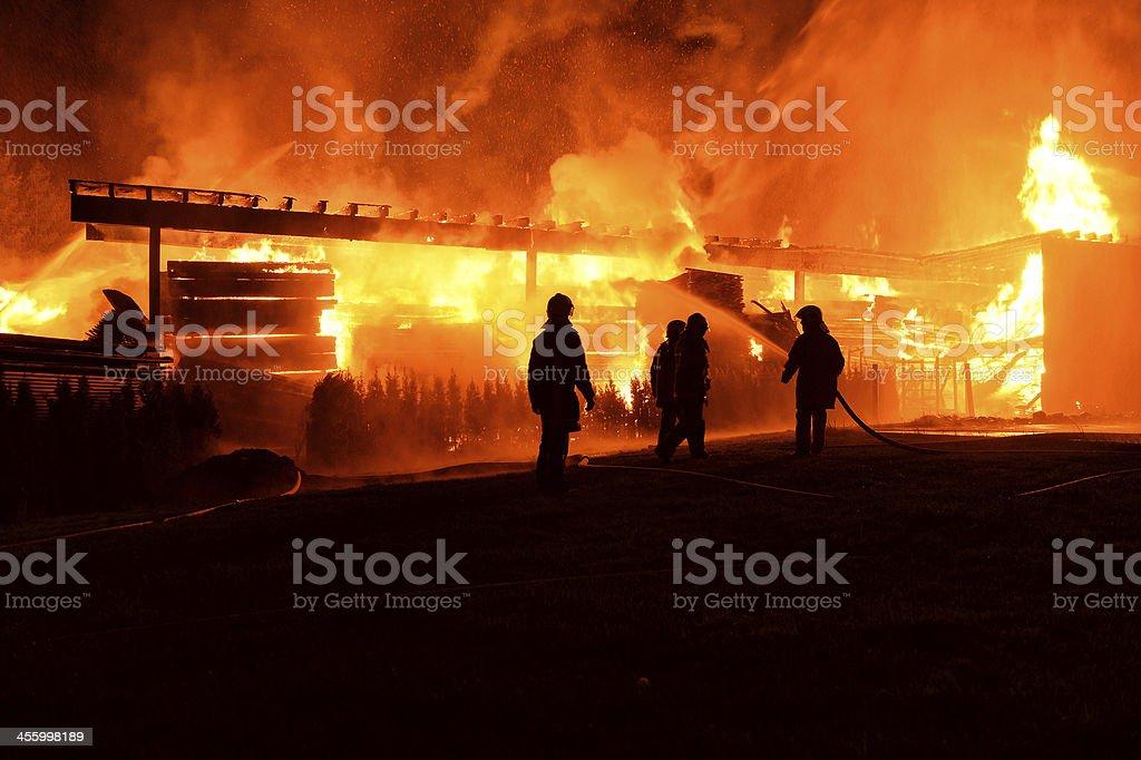 Feuerwehreinsatz royalty-free stock photo