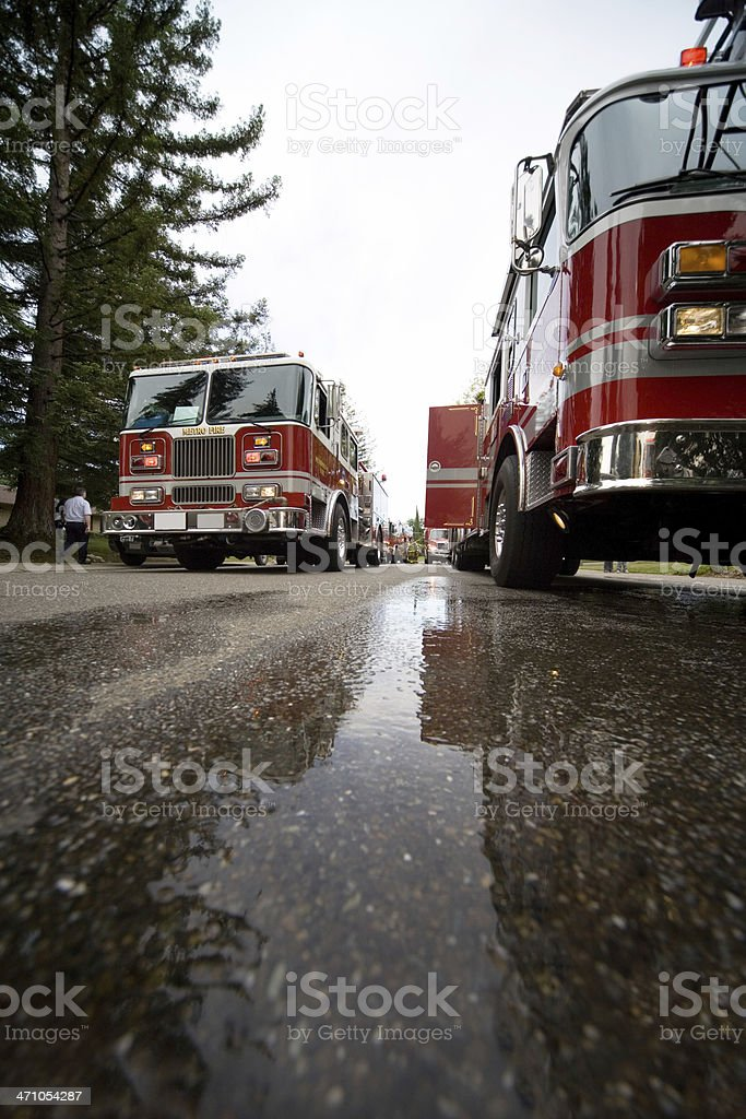 Firefigter Trucks royalty-free stock photo