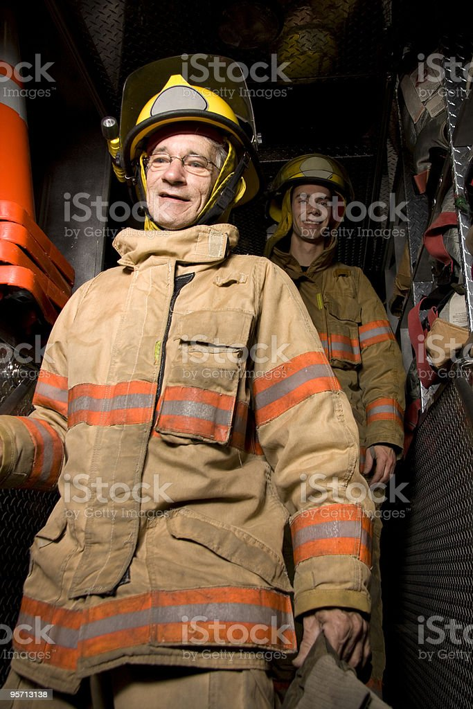 Fireman royalty-free stock photo