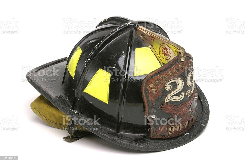 Fireman's Helmet royalty-free stock photo