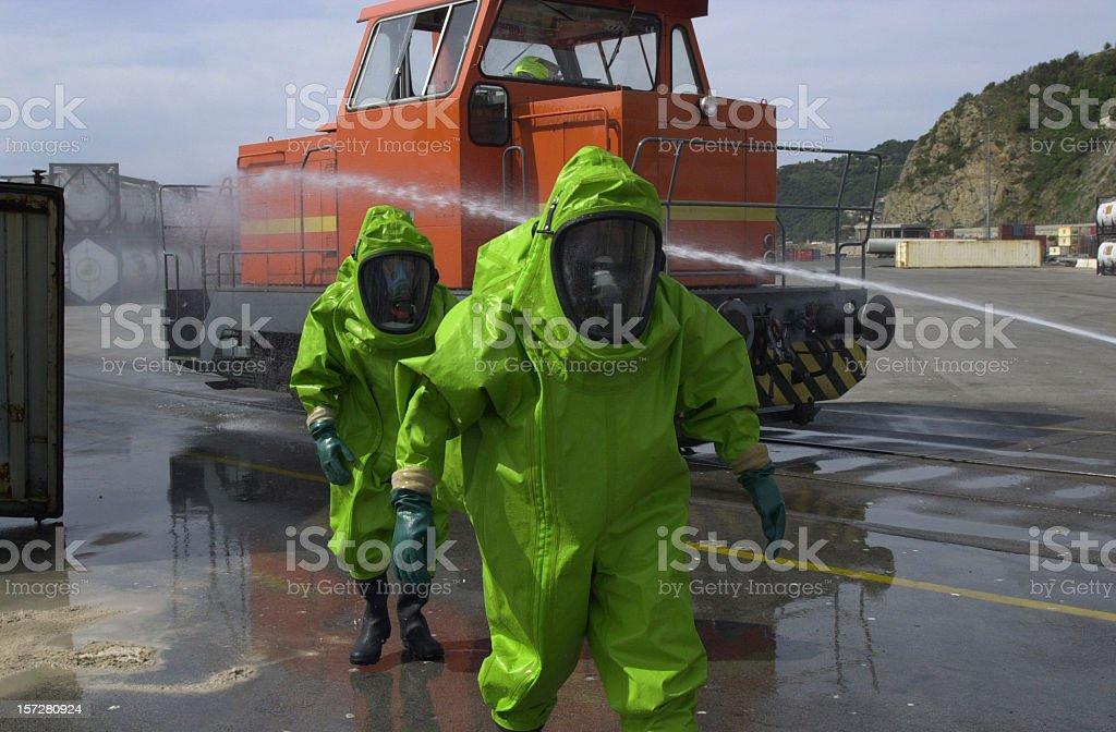 Firemen Squad II royalty-free stock photo